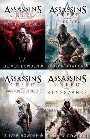 Az első négy Assassin's Creed regény akciós csomagban