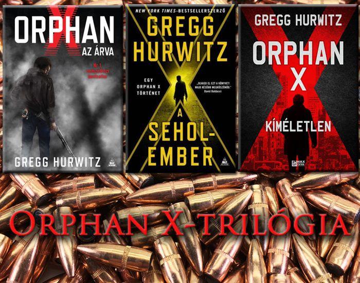 Orphan X trilógia akciós csomag