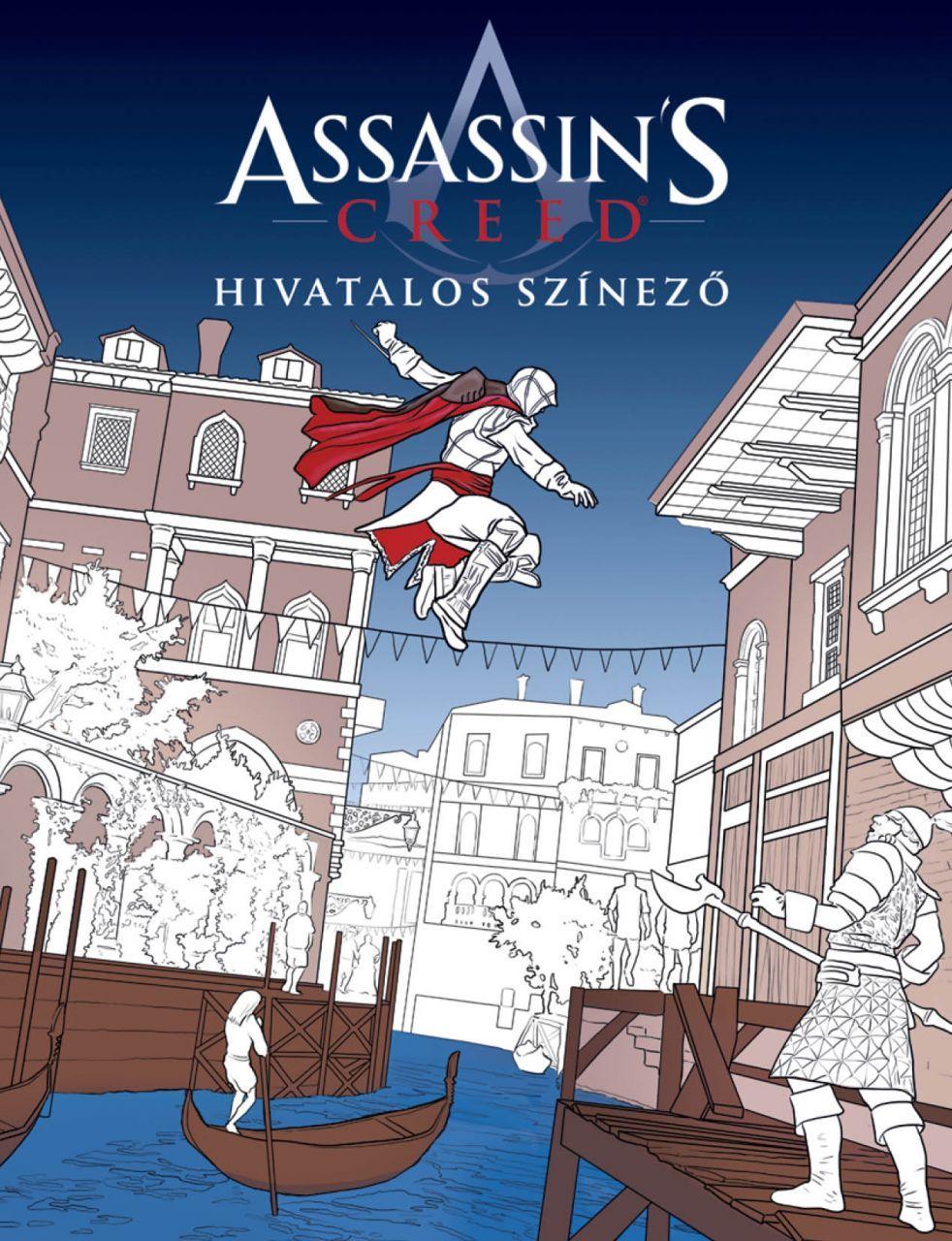 Assassin's Creed - Hivatalos színező ajándék