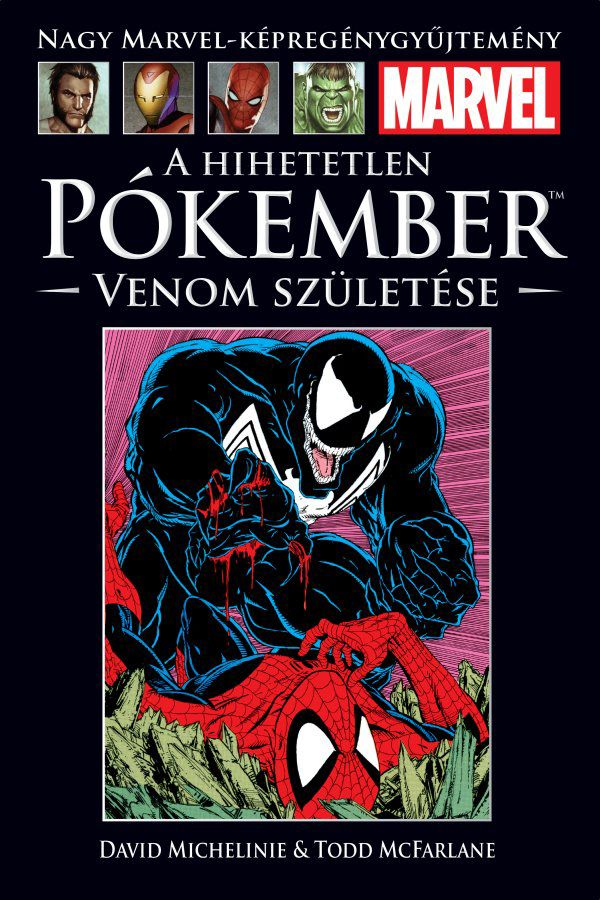 Nagy Marvel Képregénygyűjtemény 5.: A Hihetetlen Pókember - Venom születése