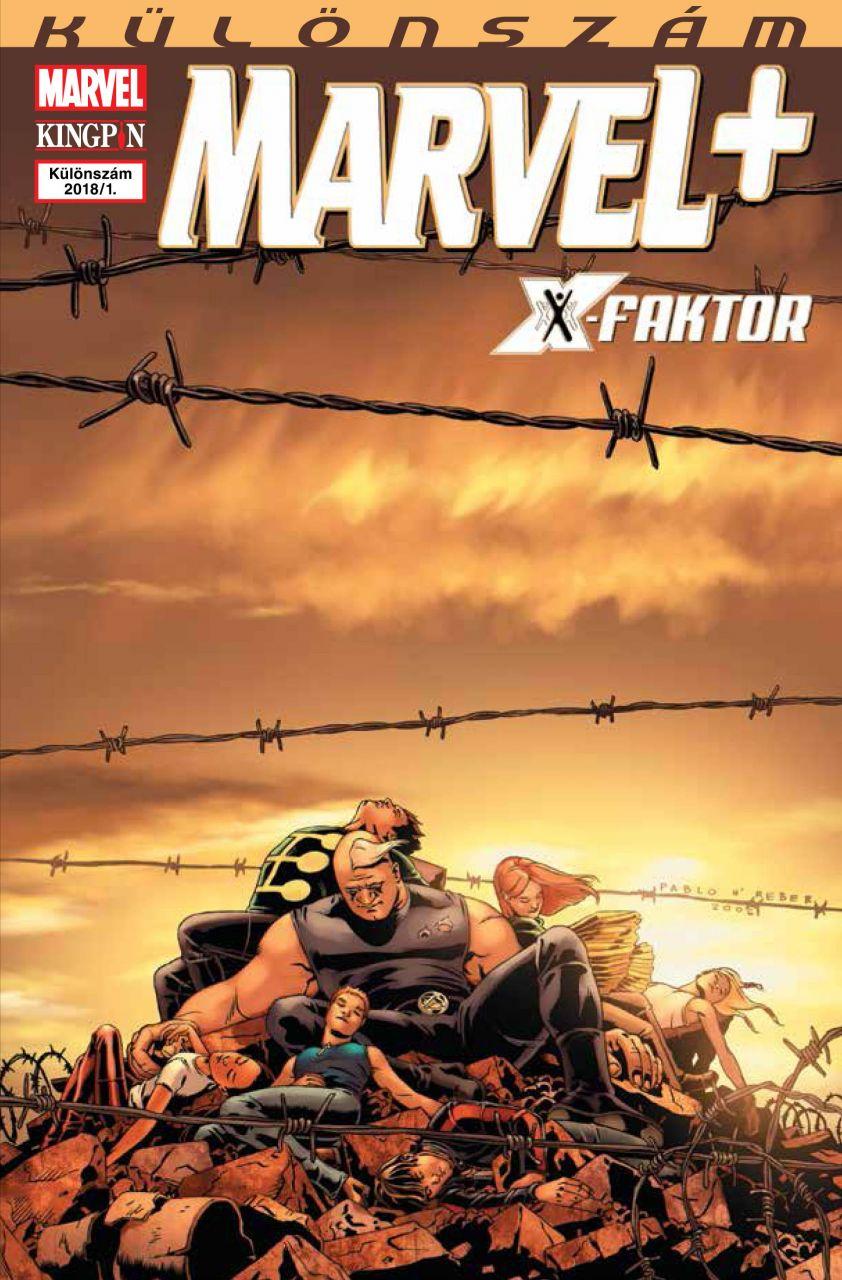 Marvel+ 2018/1 Különszám: X-Faktor #3