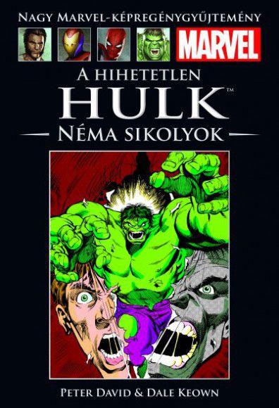 Nagy Marvel Képregénygyűjtemény 8.: A Hihetetlen Hulk - Néma sikolyok