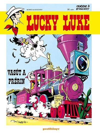 Lucky Luke 32. - Vasút a prérin