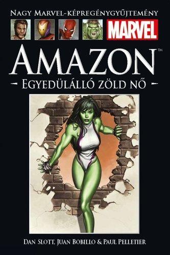 Nagy Marvel-Képregénygyűjtemény 17. - Amazon: Egyedülálló zöld nő