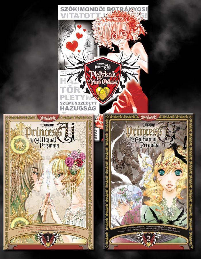 Princess Ai manga ajándék