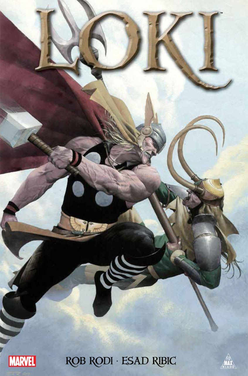 Esad Ribic, Rob Rodi: Loki (keménytáblás képregény)