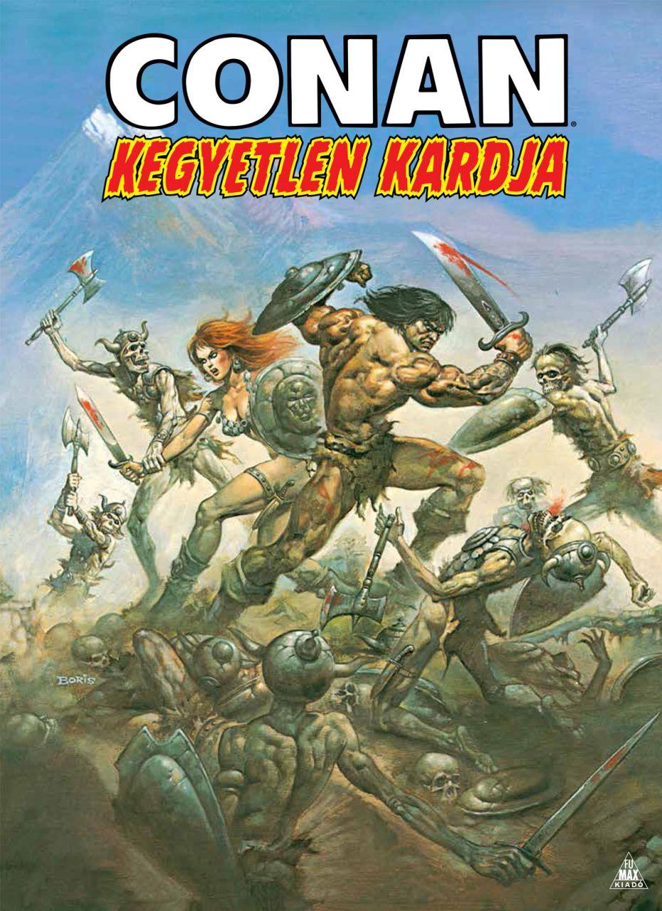 LIMITÁLT Conan kegyetlen kardja keménytáblás képregény