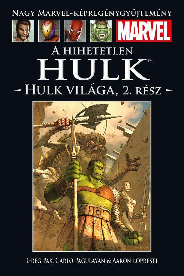 Nagy Marvel-Képregénygyűjtemény 20.: A Hihetetlen Hulk: Hulk világa 2. rész
