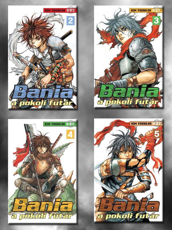 Bania 2-5 manhwa kötetek ajándék