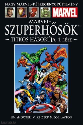 Nagy Marvel-Képregénygyűjtemény 25: Marvel szuperhősök titkos háborúja 1. rész