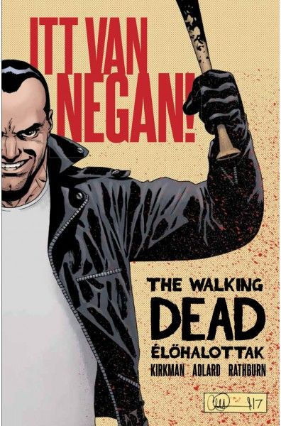 The Walking Dead: Itt van Negan!