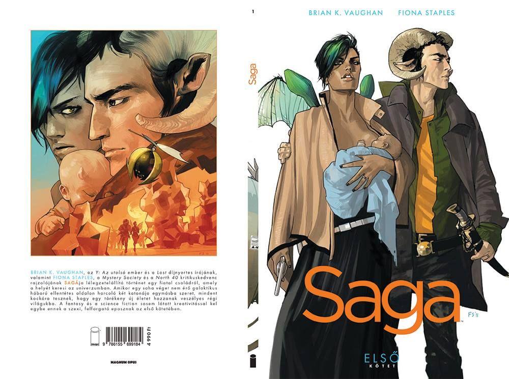Brian K. Vaughan, Fiona Staples: Saga Első Kötet (puhatáblás)