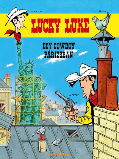 Lucky Luke 34.: Egy cowboy Párizsban képregény