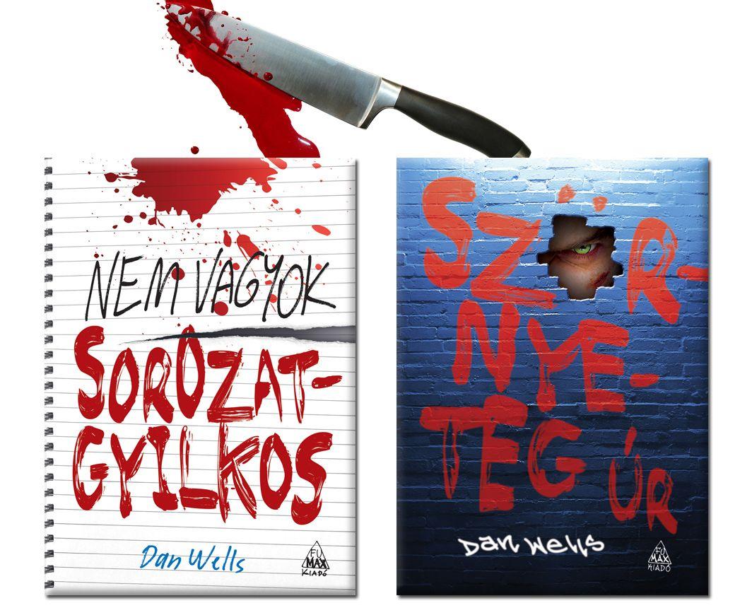 Nem vagyok sorozatgyilkos + Szörnyeteg Úr akciós könyv csomag