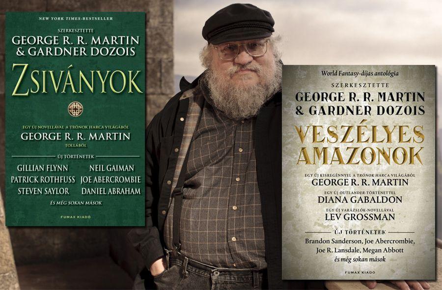 George R. R. Martin akciós csomag: Zsiványok és Veszélyes amazonok