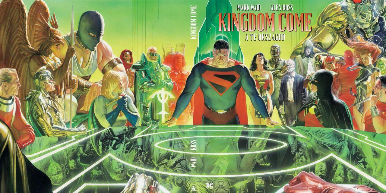 LIMITÁLT Kingdom Come - A te országod keménytáblás képregény extrákkal