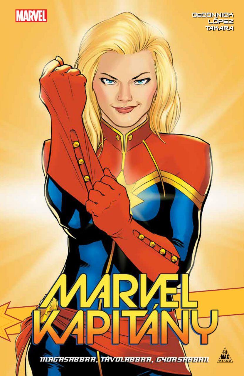 Marvel kapitány keménytáblás képregény