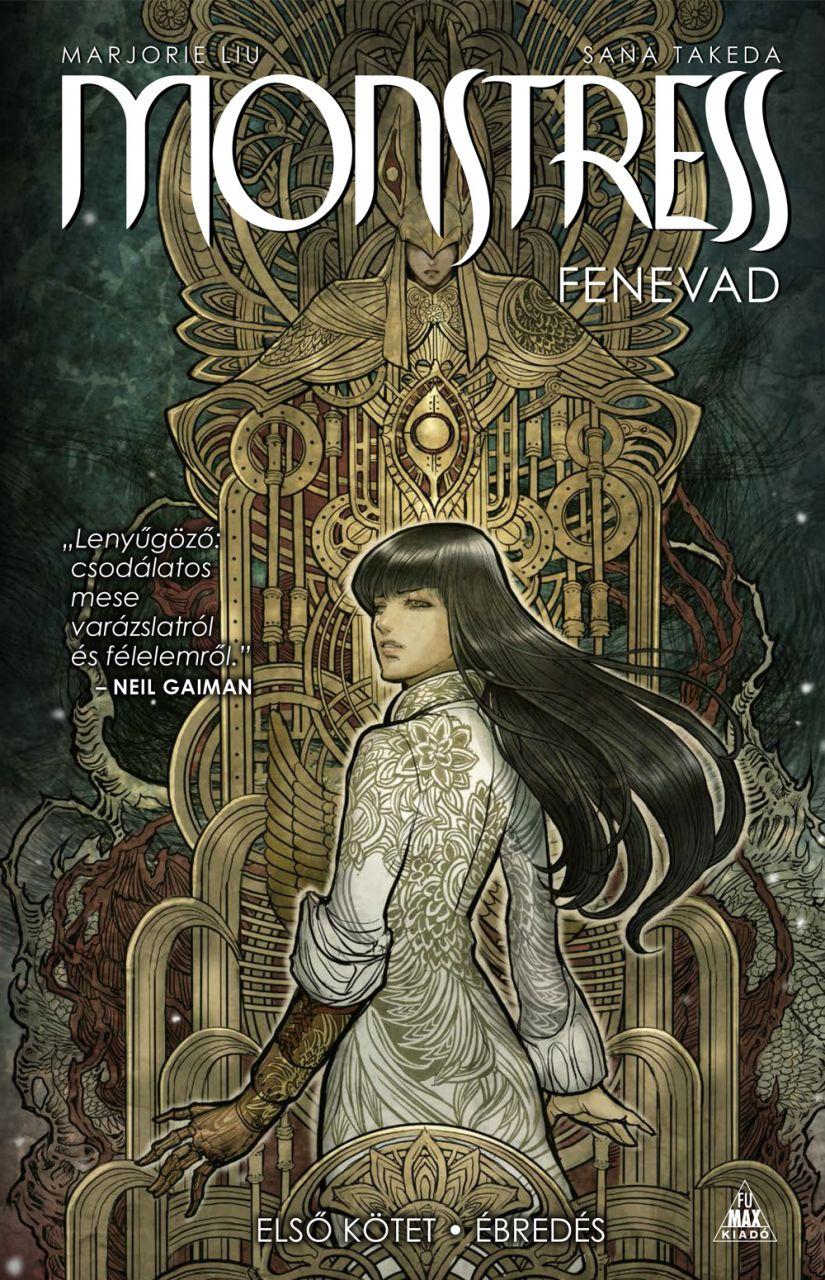 Marjorie Liu, Sana Takeda: Monstress - Fenevad, Első kötet: Ébredés keménytáblás képregény