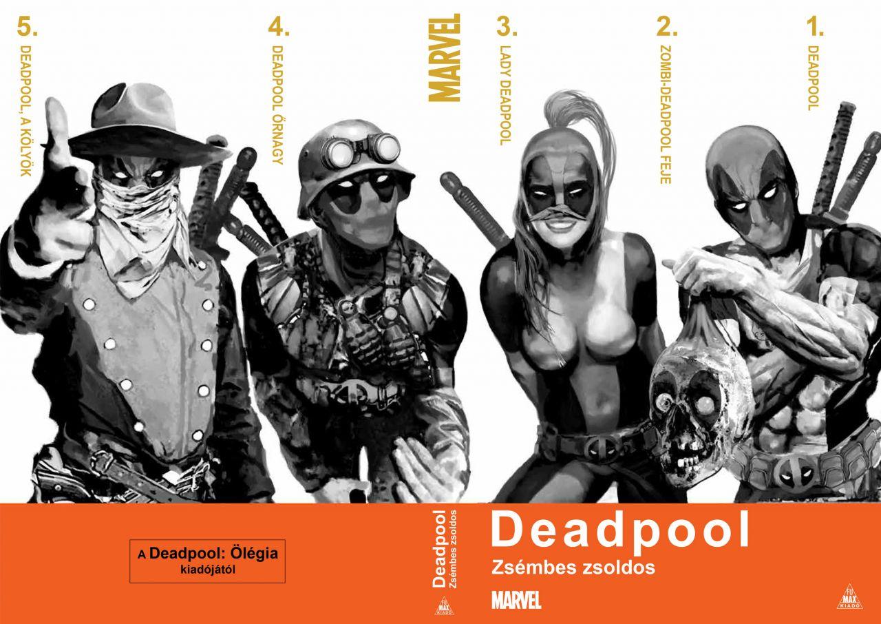 Deadpool: Zsémbes zsoldos keménytáblás, limitált, exkluzív kivitelű képregény
