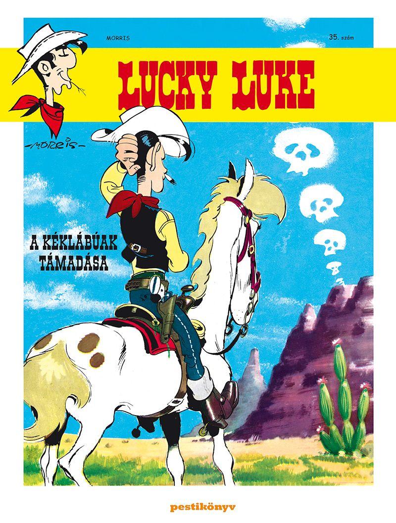 Lucky Luke 35 - A kéklábúak támadása