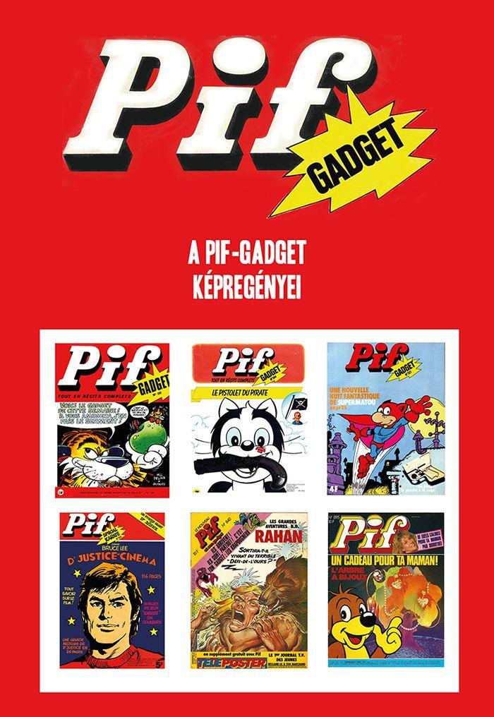 Bayer Antal: A Pif-Gadget képregényei