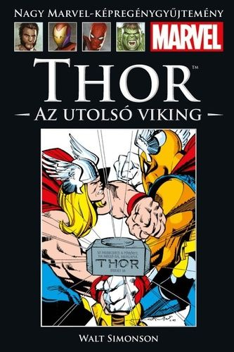 Nagy Marvel Képregénygyűjtemény 39.: Thor - Az utolsó viking