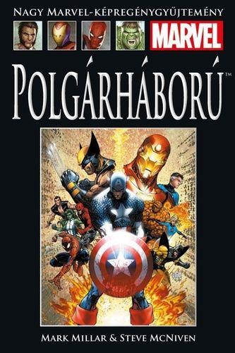 Nagy Marvel Képregénygyűjtemény 40.: Polgárháború