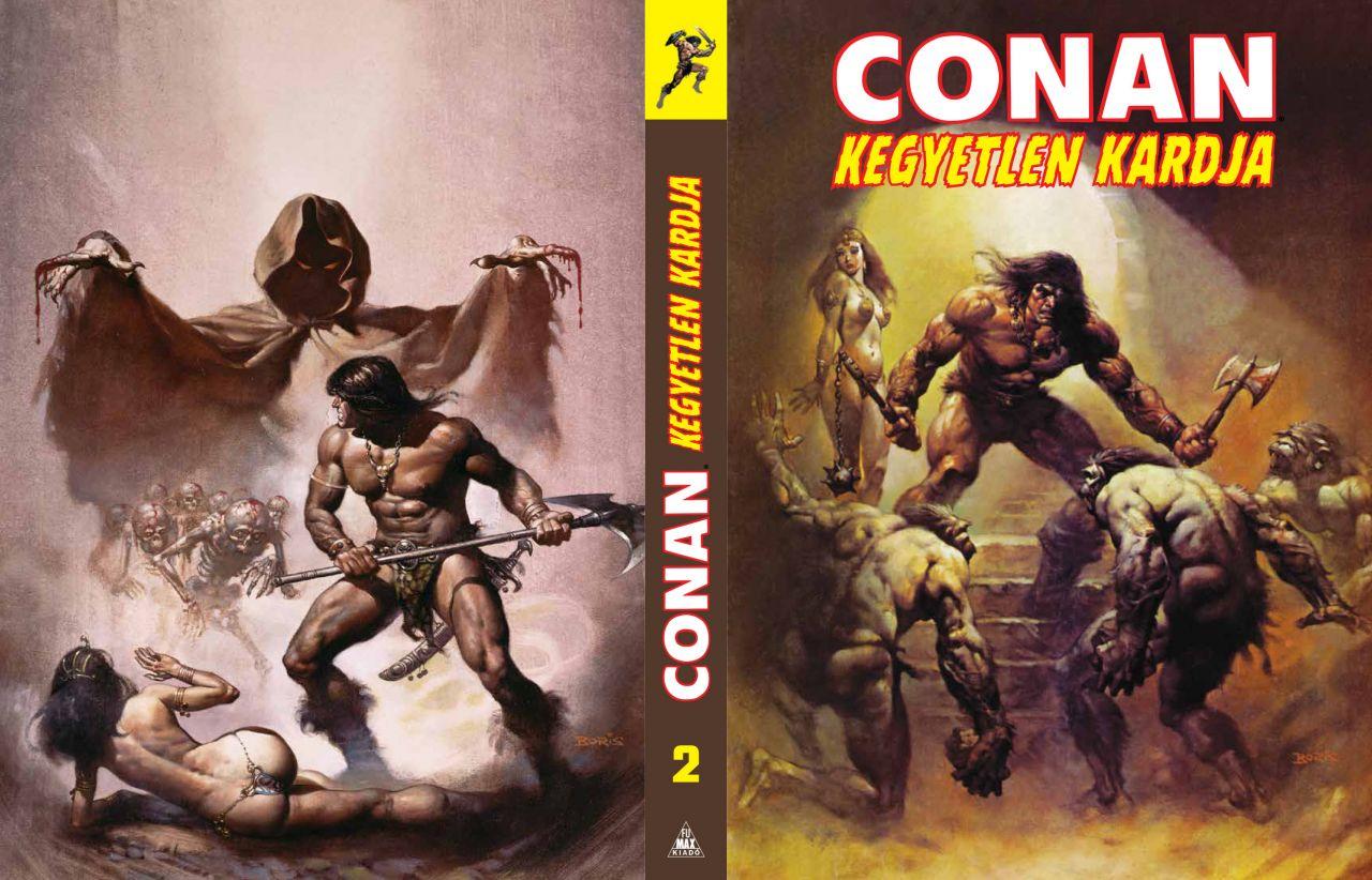 Conan kegyetlen kardja 2. (keménytáblás képregény), limitált változat