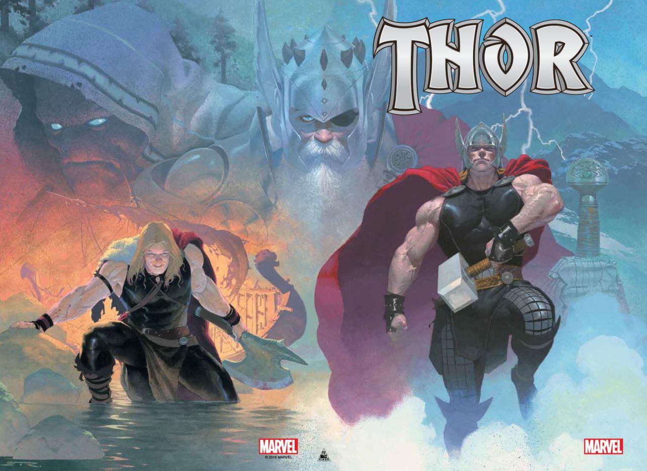 LIMITÁLT Jason Aaron: Thor: A mennydörgés istene keménytáblás képregény