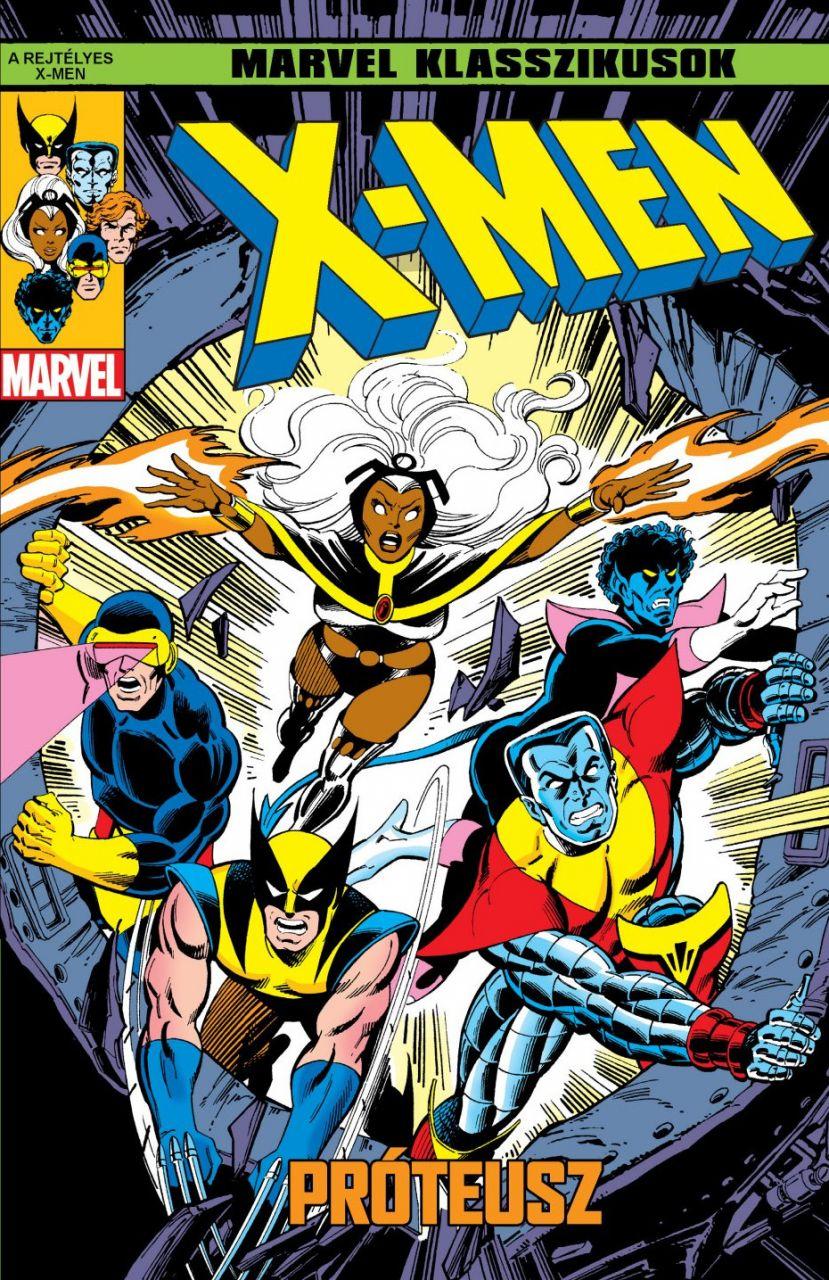 Marvel Klasszikusok - X-Men 4.: Próteusz