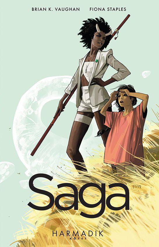 Brian K. Vaughan, Fiona Staples: Saga Harmadik Kötet (puhatáblás) képregény