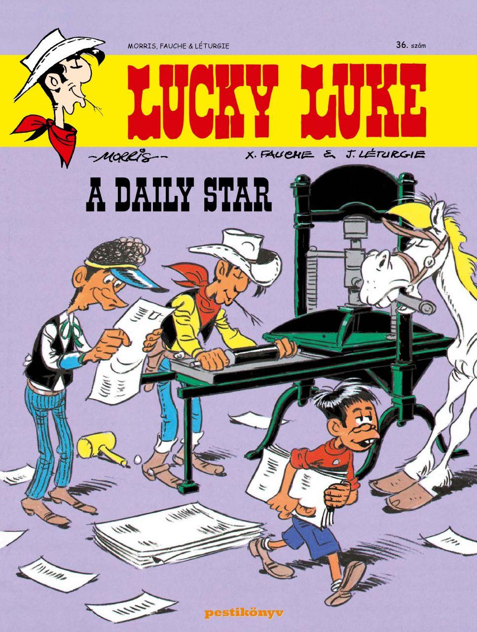 Lucky Luke 36 - A Daily Star
