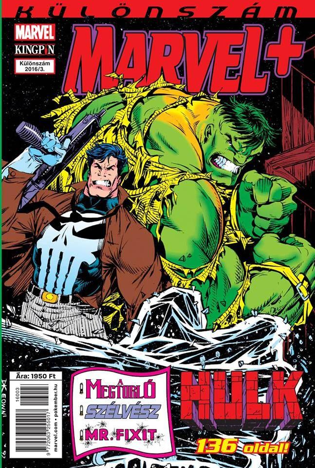 Marvel+ Különszám 2016/3 Hulk, Megtorló, Szélvész
