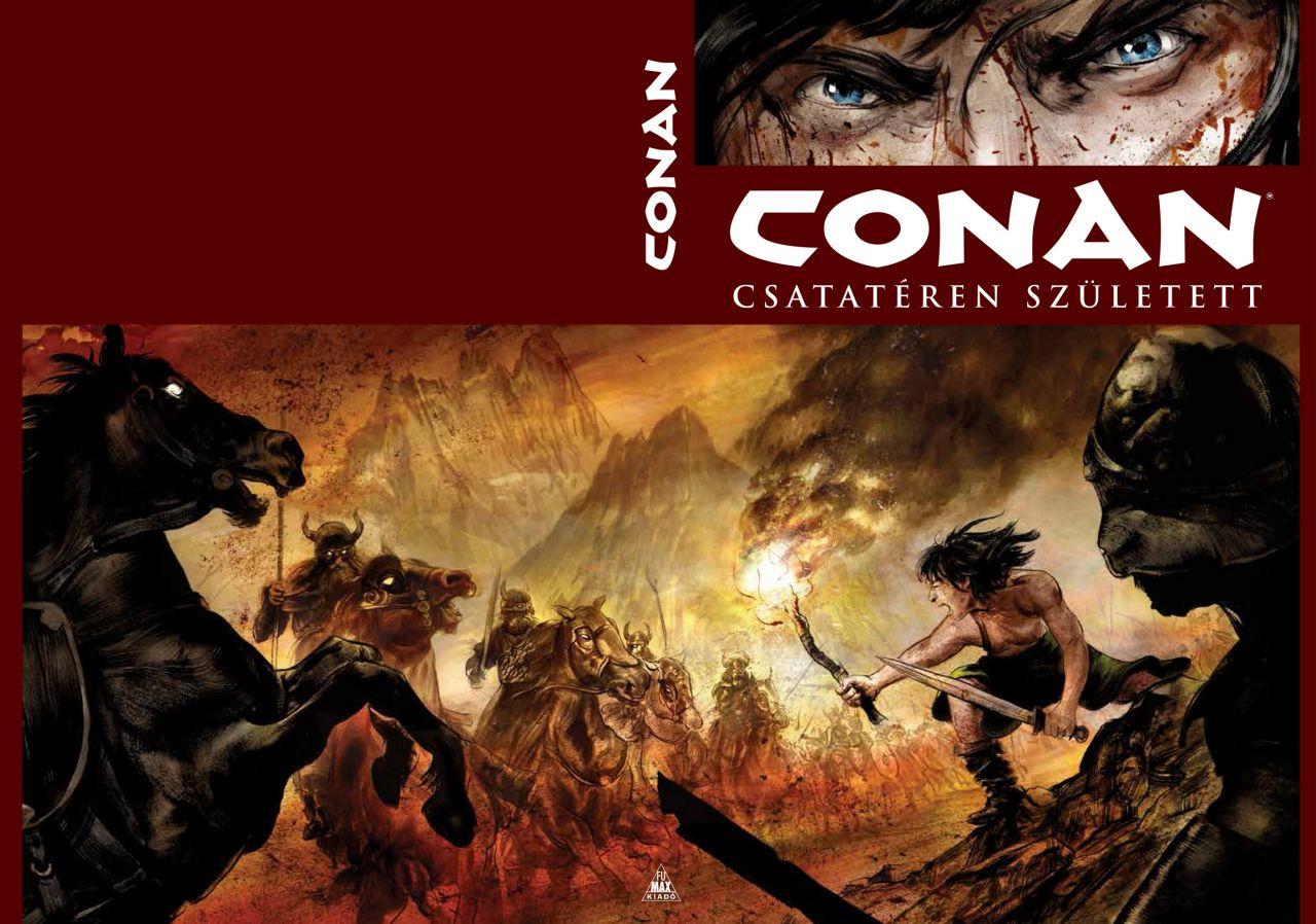 LIMITÁLT Conan-gyűjtemény: Csatatéren született és más történetek keménytáblás képregény