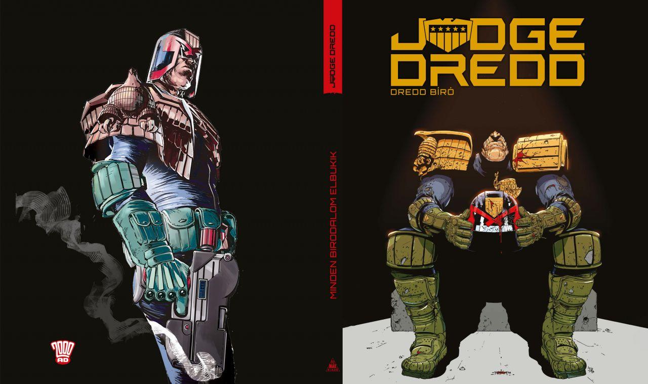 LIMITÁLT Judge Dredd - Dredd bíró: Minden birodalom elbukik keménytáblás képregény