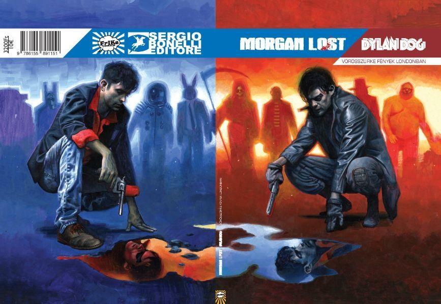 Dylan Dog / Morgan Lost: Vörösszürke fények Londonban