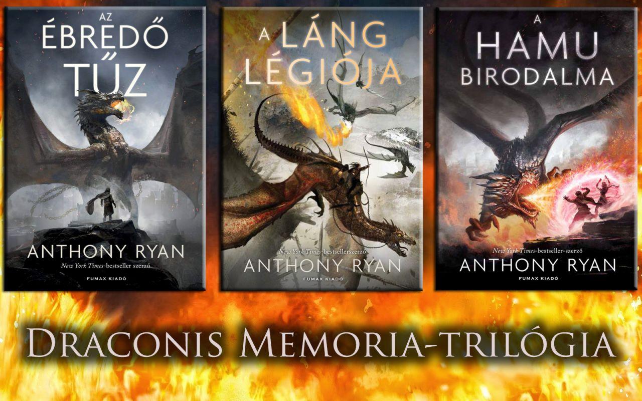 Anthony Ryan: Draconis Memoria-trilógia akciós csomag