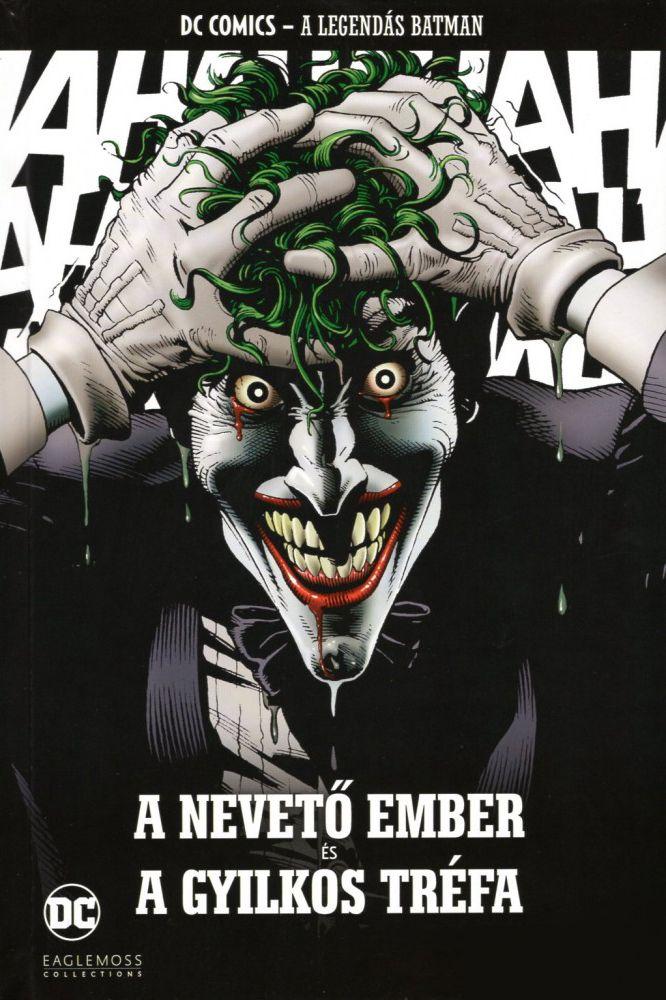 A Legendás Batman 34.: A nevető ember és A gyilkos tréfa UTOLSÓ PÉLDÁNYOK