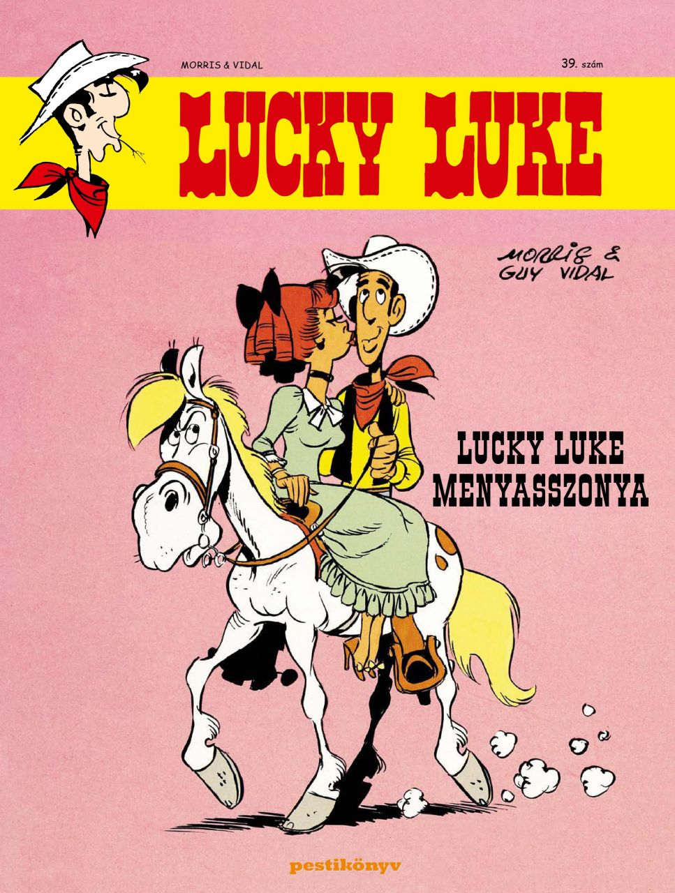 Lucky Luke 39 - Lucky Luke menyasszonya