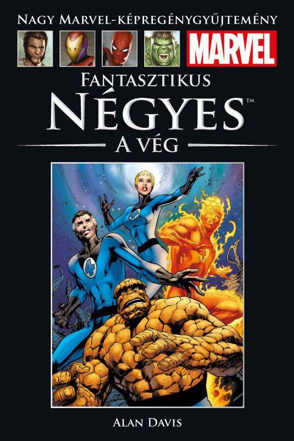 Nagy Marvel Képregénygyűjtemény 62.: Fantasztikus Négyes - A vég