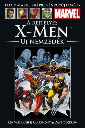 Nagy Marvel Képregénygyűjtemény 65.: A rejtélyes X-Men: Új nemzedék