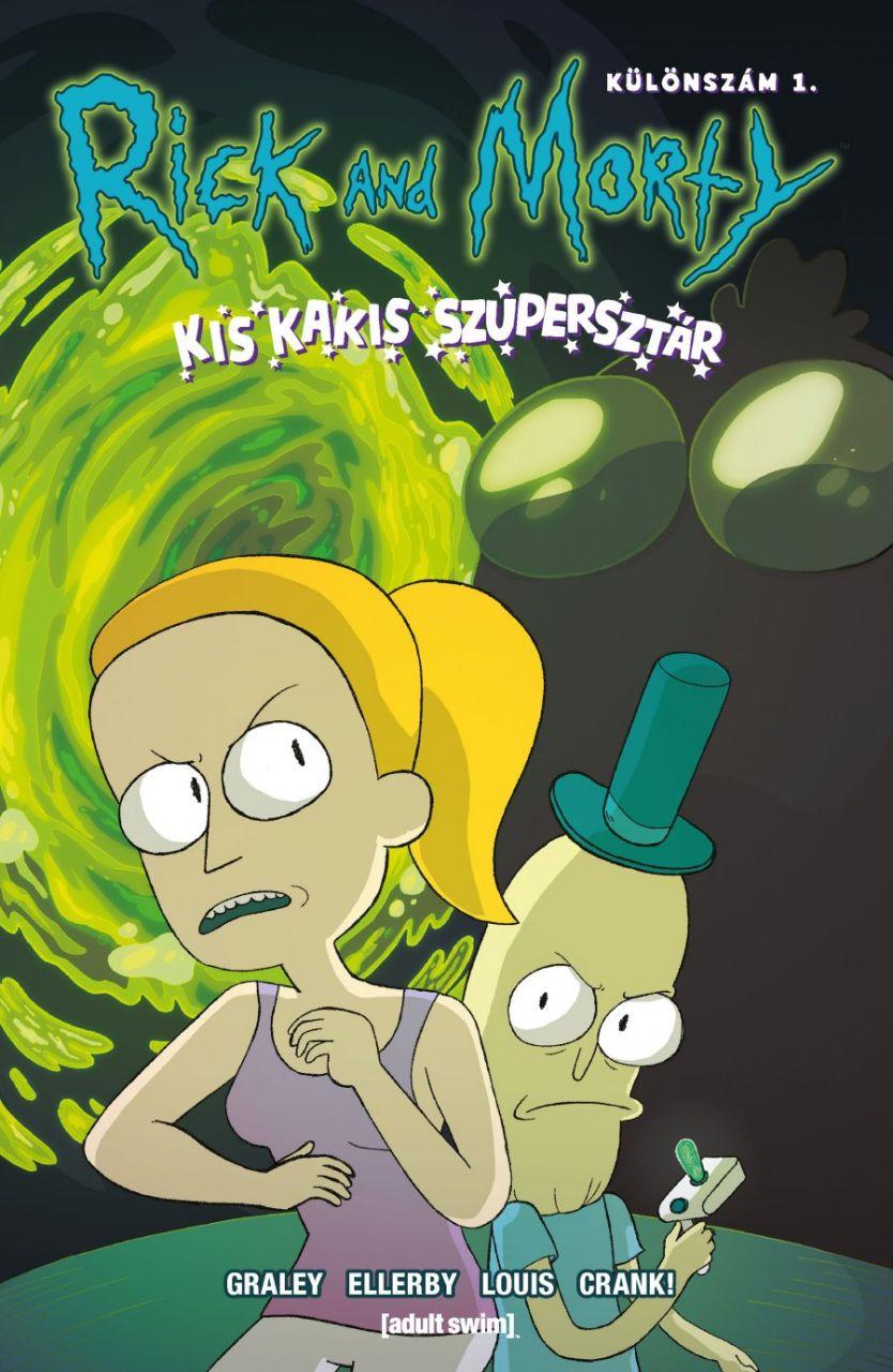 Rick and Morty különszám 1.: Kis kakis szupersztár