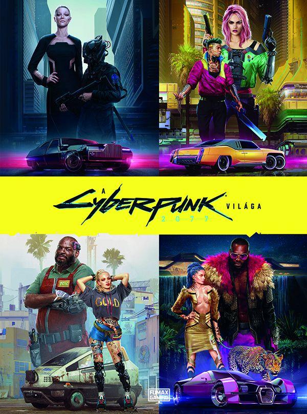 A Cyberpunk 2077 világa - keménytáblás album