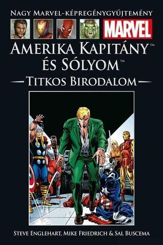 Nagy Marvel Képregénygyűjtemény 73.: Amerika Kapitány és a Sólyom: Titkos Birodalom