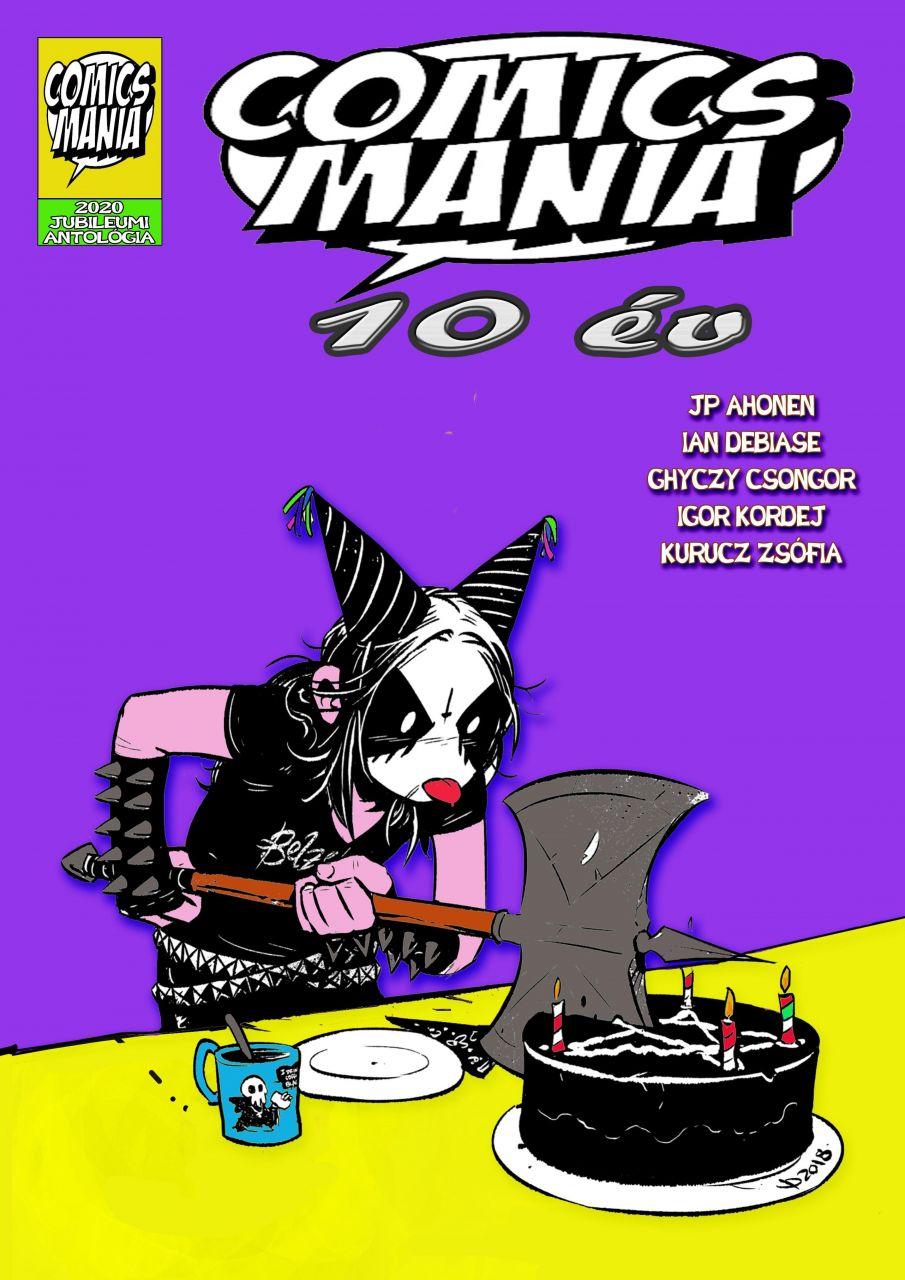 Comicsmania - 10 év kiadvány képregény antológia