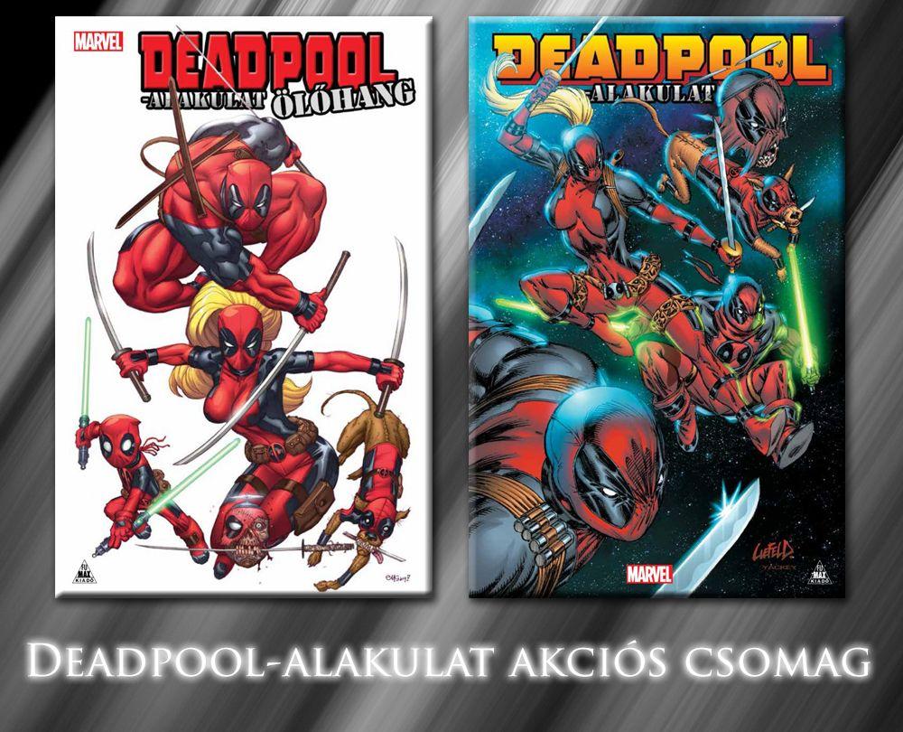 A teljes Deadpool-alakulat keménytáblás képregény sorozat akciós csomag