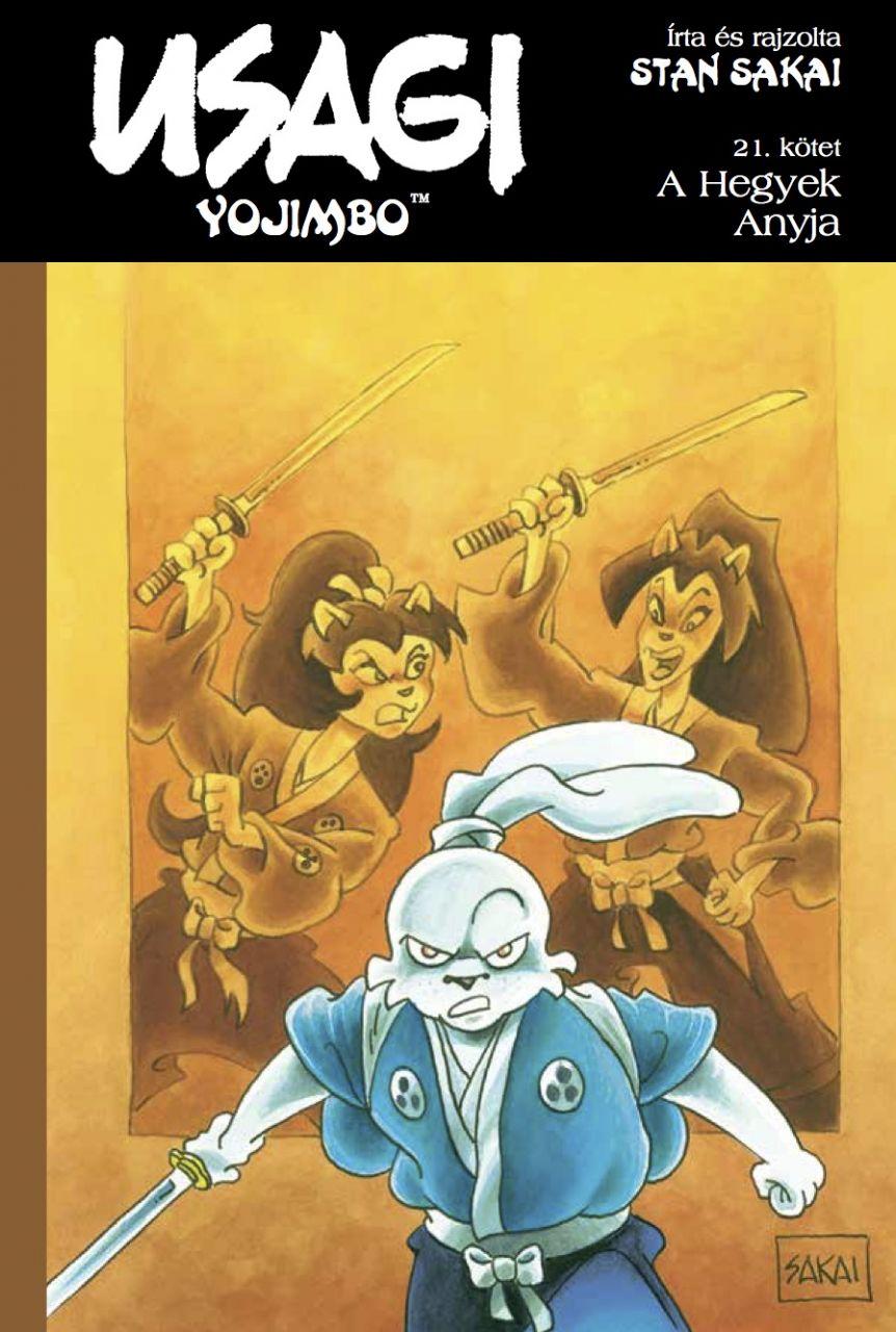 Usagi Yojimbo 21.: A Hegyek Anyja képregény