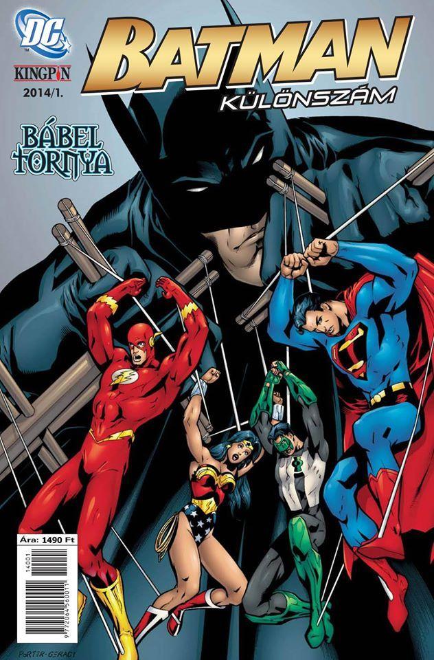 Batman Különszám 2014/1 Bábel tornya