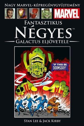 Nagy Marvel Képregénygyűjtemény 75.: Galactus eljövetele