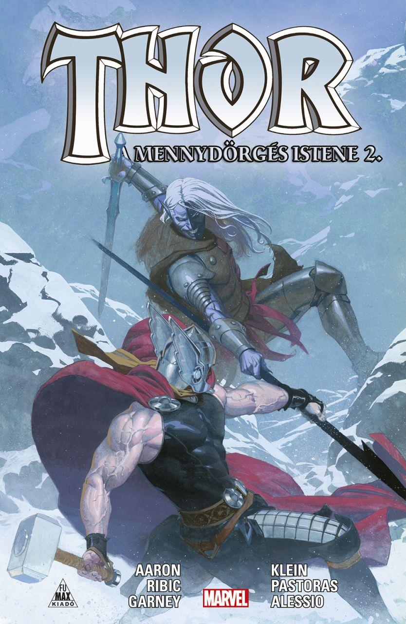 Jason Aaron: Thor: A mennydörgés istene 2. keménytáblás képregény